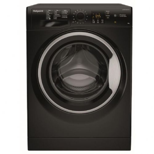 HOTPOINT NSWF943CBS Black 9KG Washing Machine 1400rpm